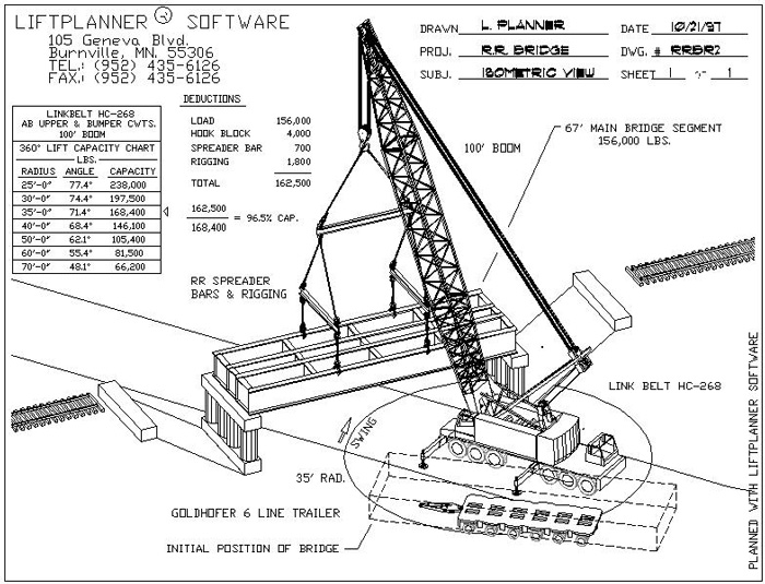 LiftPlanner Software Crane Lift Planning And Rigging Software
